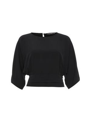 Блузка Joymiss. Цвет: черный