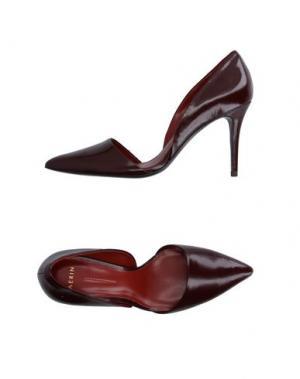 Туфли AERIN. Цвет: красно-коричневый