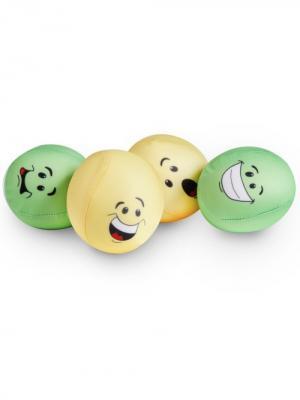 Мяч мемориформ Колобол 8х8 см Экспетро. Цвет: зеленый