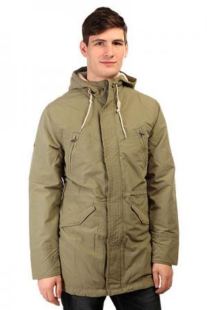 Куртка парка  Torian Parka Army Altamont. Цвет: зеленый