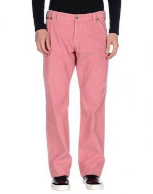 Повседневные брюки DANIELE ALESSANDRINI. Цвет: пастельно-розовый