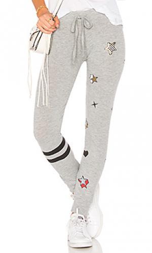 Спортивные брюки kizzy classic Lauren Moshi. Цвет: серый