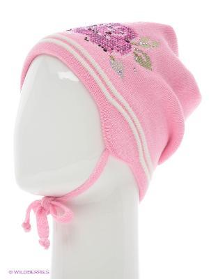 Шапка Tricotier. Цвет: розовый