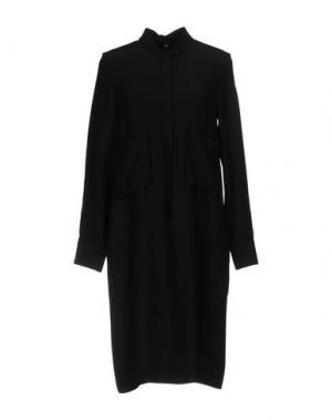 Платье до колена N_8. Цвет: черный