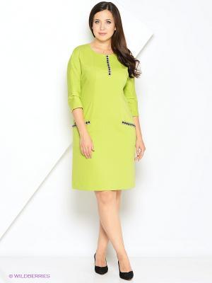 Платье МадаМ Т. Цвет: салатовый