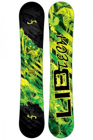 Сноуборд  Sk8 Banana Yellow Ast Lib Tech. Цвет: черный,зеленый