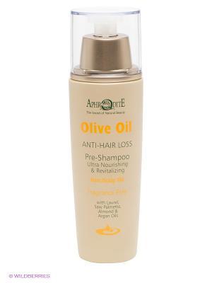 Средство для волос с оливковым маслом Aphrodite. Цвет: бежевый