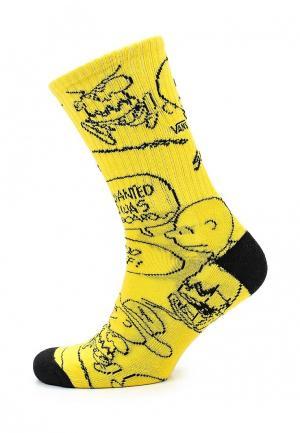 Носки Vans. Цвет: желтый