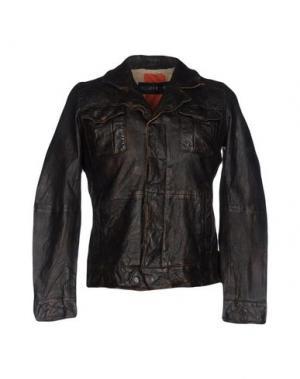 Куртка FREAKY NATION. Цвет: темно-коричневый