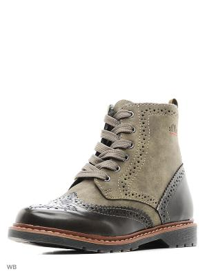Ботинки S.OLIVER. Цвет: хаки