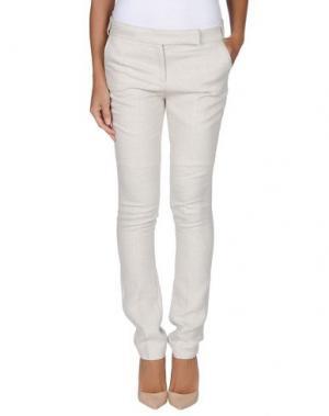 Повседневные брюки BA&SH. Цвет: светло-серый
