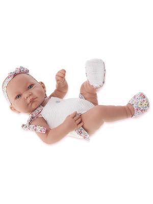Кукла-младенец Ника, 42 см. Antonio Juan. Цвет: молочный