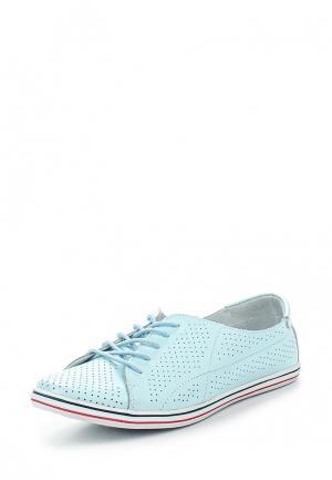 Ботинки Destra. Цвет: голубой