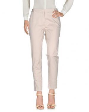 Повседневные брюки CIVIDINI. Цвет: бежевый