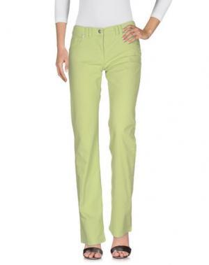 Джинсовые брюки CANADIENS. Цвет: кислотно-зеленый