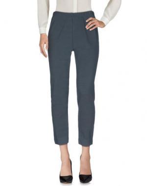 Повседневные брюки NEERA. Цвет: свинцово-серый