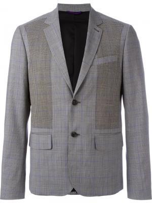 Пиджак с застежкой на две пуговицы Oamc. Цвет: серый