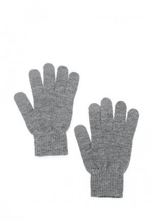 Перчатки Topshop. Цвет: серый