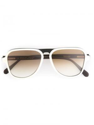 Солнцезащитные очки Alex Ralph Vaessen. Цвет: телесный