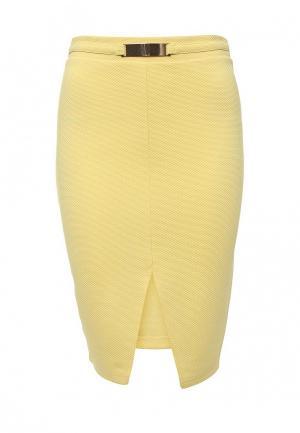 Юбка Troll. Цвет: желтый