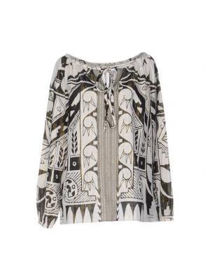 Блузка CUSTO BARCELONA. Цвет: слоновая кость