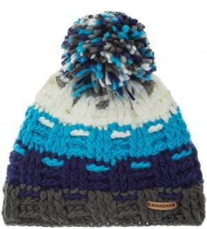 Трикотажная шапка в полоску CANADIAN. Цвет: полоска