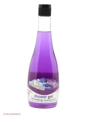 Гель для душа тонизирующий Shower gel stimulating Mastic Spa. Цвет: фиолетовый