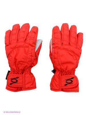 Перчатки CACAO. Цвет: красный