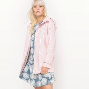 Плащ непромокаемый блестящий MADEMOISELLE R. Цвет: розовый