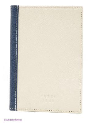 Обложка на паспорт Petek. Цвет: кремовый