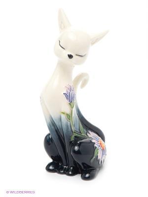 Статуэтка Кошка Pavone. Цвет: бежевый