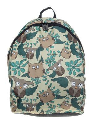 Рюкзак ПодЪполье. Цвет: зеленый, серый, коричневый
