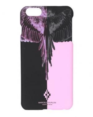 Аксессуар для техники MARCELO BURLON. Цвет: розовый