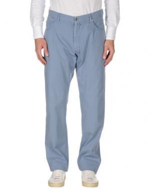 Повседневные брюки MASON'S JEANS. Цвет: пастельно-синий