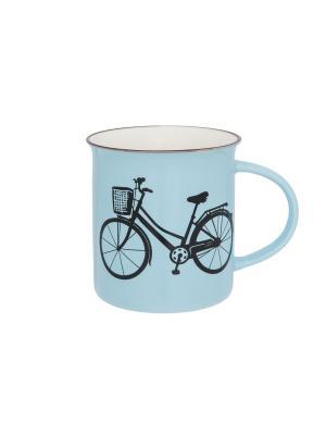 Кружка Велосипед Elan Gallery. Цвет: голубой