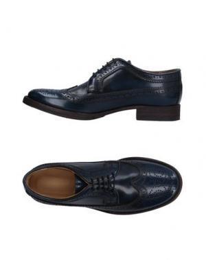 Обувь на шнурках 01000010 by BOCCACCINI. Цвет: темно-синий