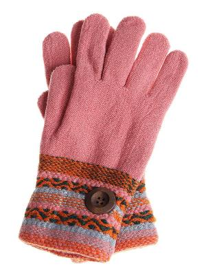 Перчатки детские Migura. Цвет: розовый, серый, оранжевый