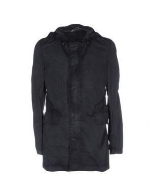 Легкое пальто HEVÒ. Цвет: стальной серый