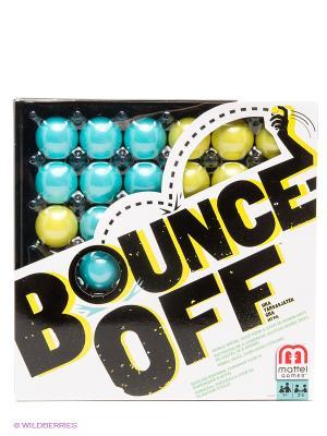 Игровой набор bounce off Mattel. Цвет: черный, голубой, желтый