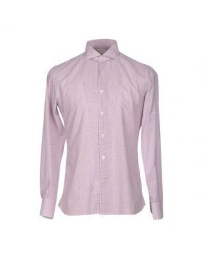 Pубашка DOMENICO TAGLIENTE. Цвет: красный