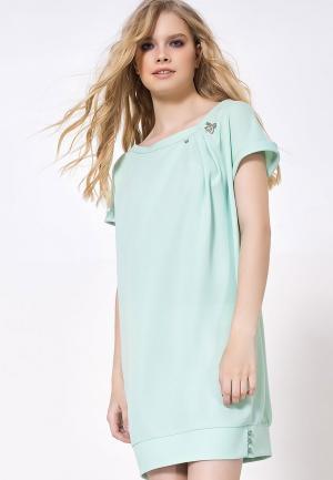Платье LO. Цвет: мятный