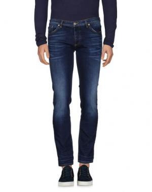 Джинсовые брюки INDIVIDUAL. Цвет: синий