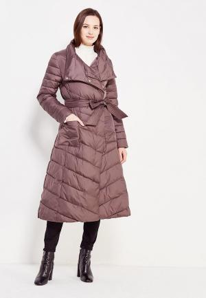 Куртка утепленная Odri Mio. Цвет: коричневый