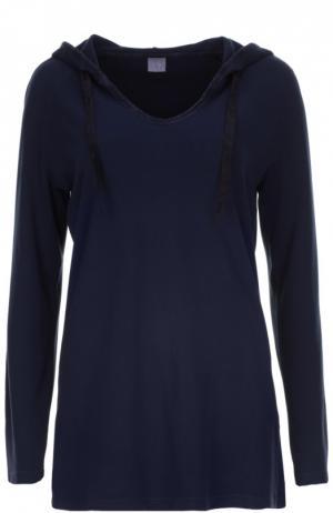 Пуловер джерси Deha. Цвет: темно-синий