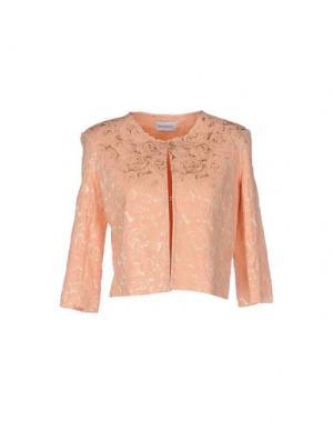 Пиджак LA KORE. Цвет: лососево-розовый