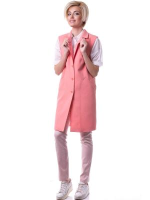 Жилетка OKS by Oksana Demchenko. Цвет: розовый