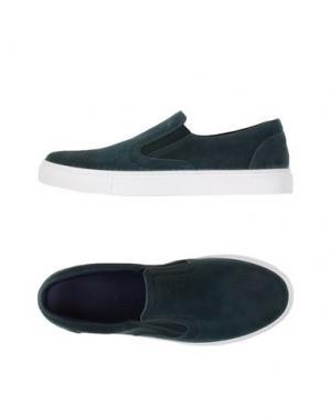 Низкие кеды и кроссовки FABIANO RICCI. Цвет: темно-зеленый
