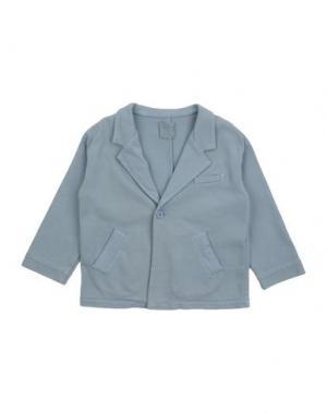 Пиджак DOUUOD. Цвет: небесно-голубой
