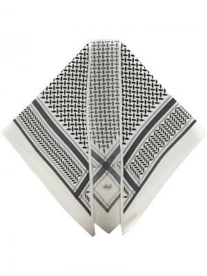 Шарф Triangle Neo Lala Berlin. Цвет: серый