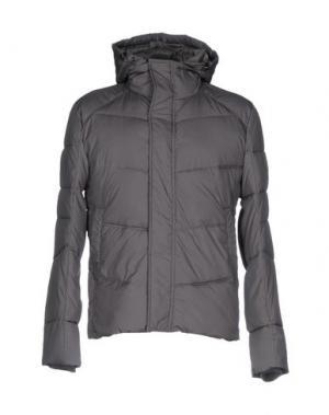 Куртка YES ZEE by ESSENZA. Цвет: свинцово-серый